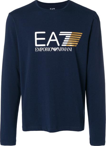 Ea7 Emporio Armani Logo print sweatshirt