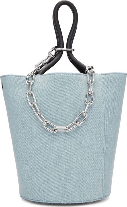 Alexander Wang Blue Denim Roxy Bucket Bag