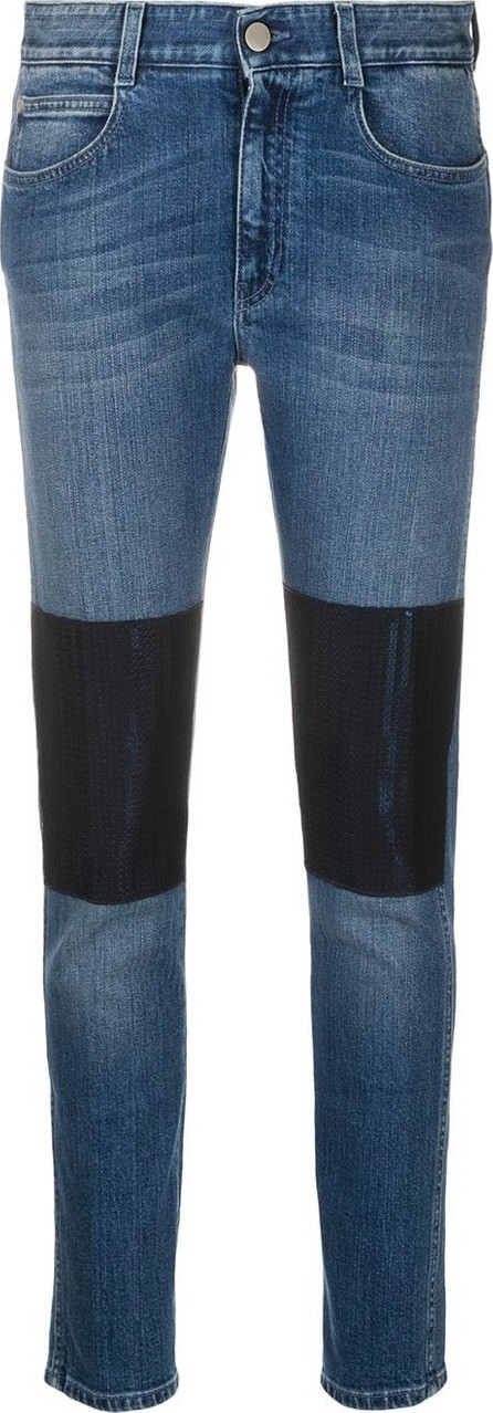 Stella McCartney Knee-patch skinny jeans