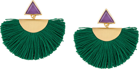 Katerina Makriyianni Fringe detail earrings
