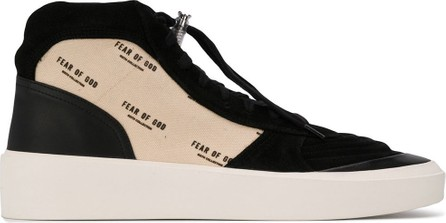 Fear of God Two-toned high-top sneakers