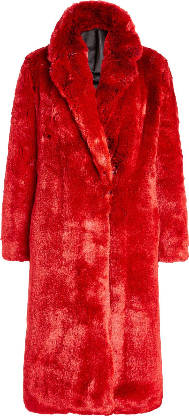 Calvin Klein 205W39NYC - Faux Fur Coat