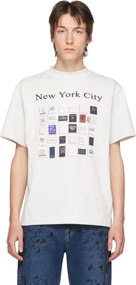 Alexander Wang Grey Matchbook T-Shirt
