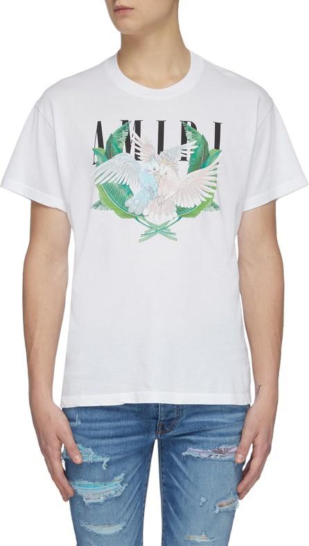 Amiri 'Lovebirds' graphic print T-shirt