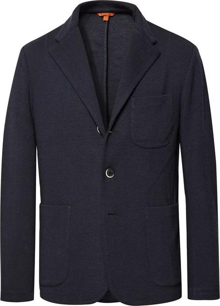 Barena Midnight-Blue Mesola Slim-Fit Unstructured Knitted Blazer