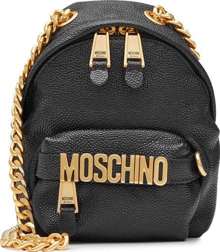 Moschino Mini Leather Backpack