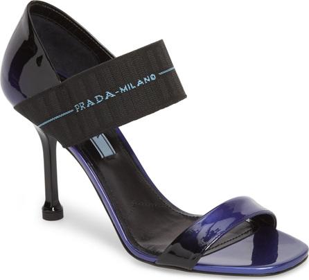 Prada Ombré Banded Sandal