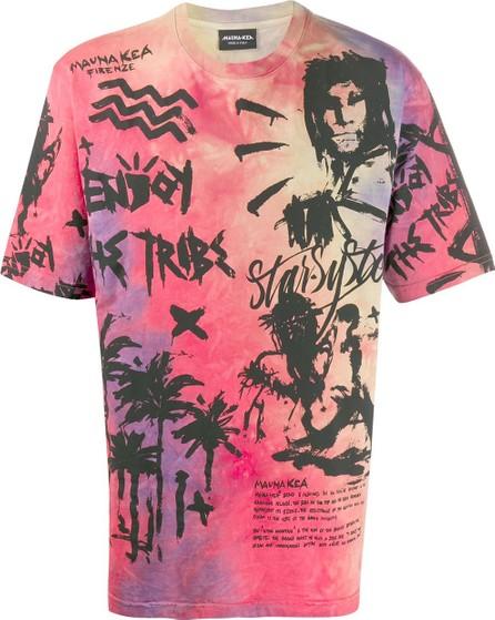 Mauna Kea Manifesto-print cotton T-shirt