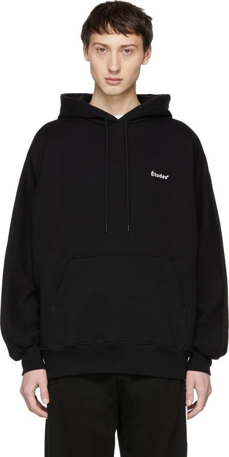 Etudes Black Shade Logo Hoodie