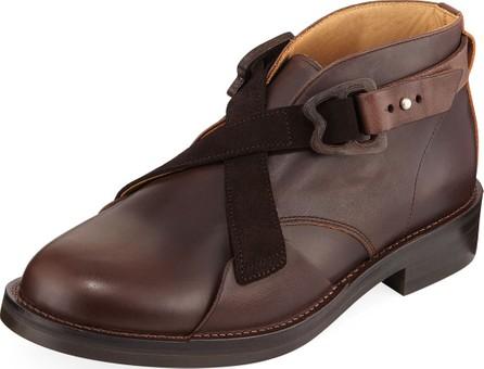 Hender Scheme Men's Mutation Crisscross Chukka Boots
