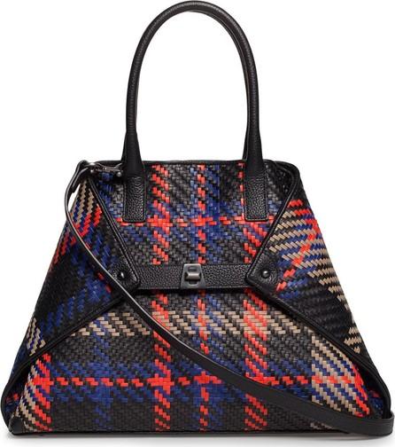 Akris Ai Small Braided Leather Tote Bag