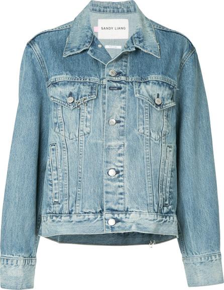 Sandy Liang Wells denim jacket