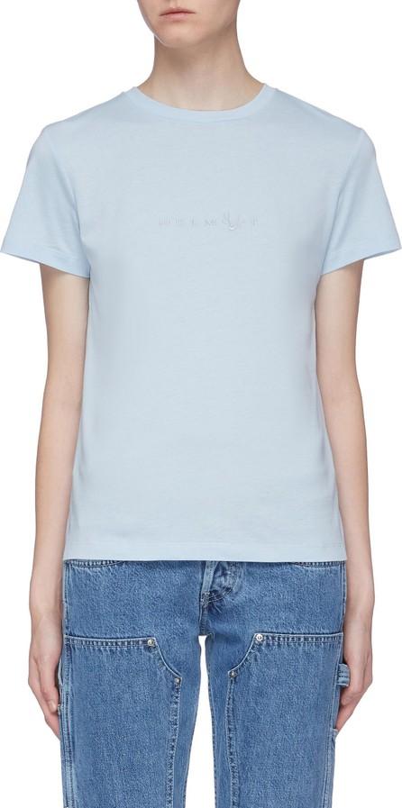 Helmut Lang 'Alien' logo embroidered T-shirt