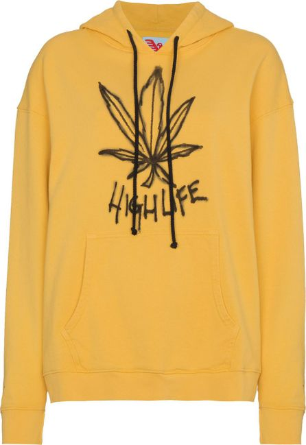 Adaptation Leaf cotton hoodie