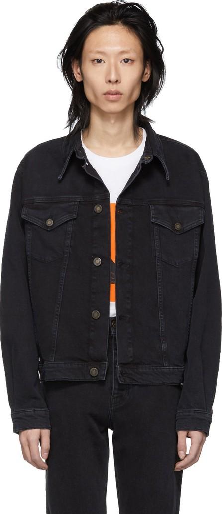 Calvin Klein Jeans Black Denim Trucker Jacket