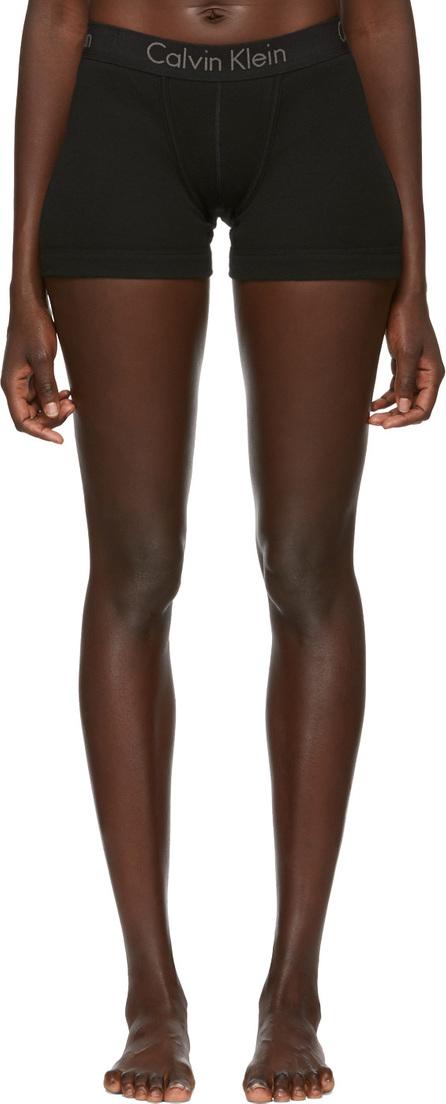 Calvin Klein Underwear Black Cotton Boy Shorts