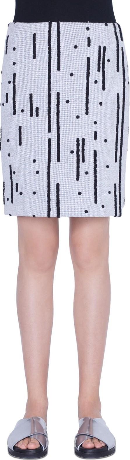 Akris Punto Memphis Lamiera Miniskirt