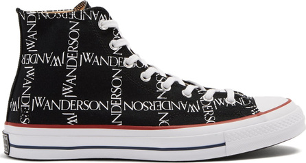 Converse x JW Anderson X JW Anderson logo-print high-top trainers