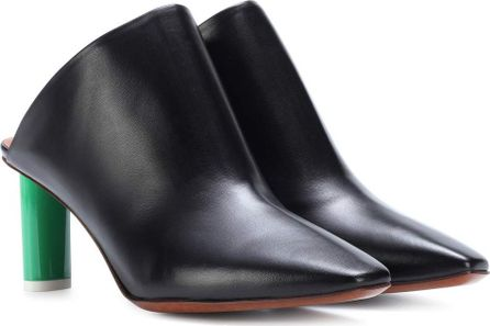 Vetements Leather mules