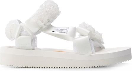 Cecilie Bahnsen Maria embellished sandals