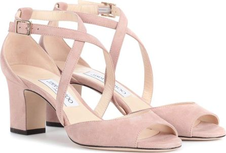 Jimmy Choo Carrie 65 suede sandals