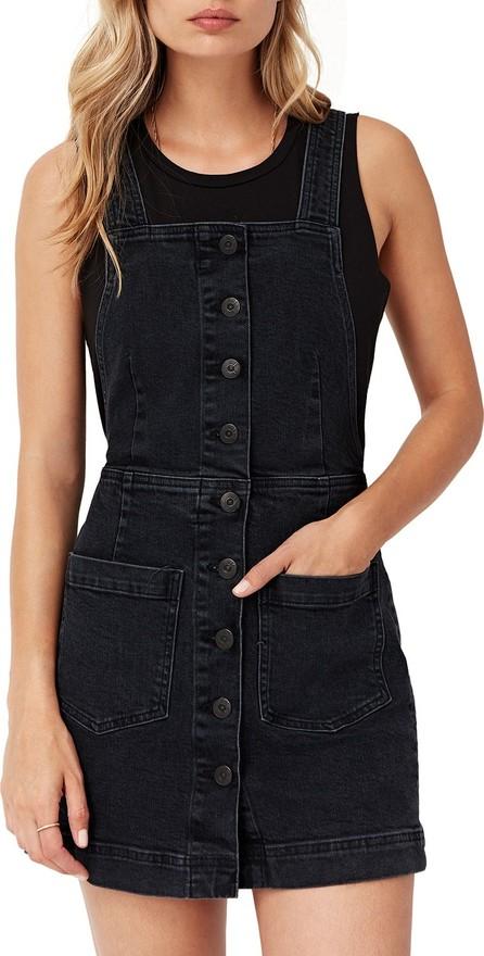 3X1 Rose Short Denim Overall Dress