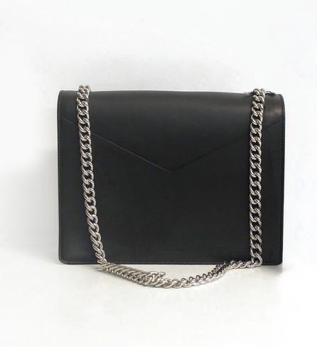 Jil Sander Black Leather Shoulder Bag