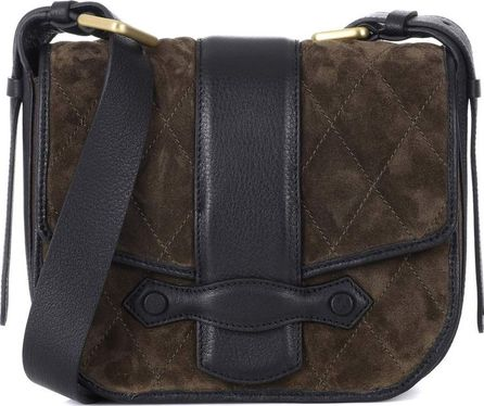VANESSA BRUNO Suede shoulder bag