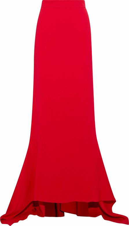 Antonio Berardi Fluted stretch-crepe maxi skirt