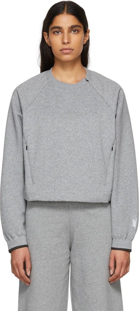 NikeLab Grey Fleece City Ready Sweatshirt