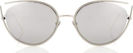 Linda Farrow 668 C2 cat-eye sunglasses