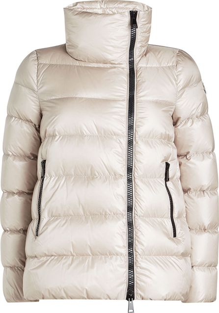 Moncler Salix Down Jacket with Stand-Up Collar
