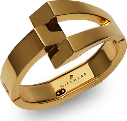 WiseWear Calder Smart Bracelet/Goldtone
