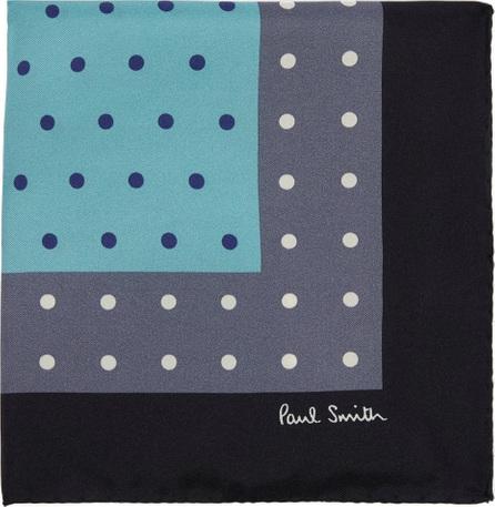 Paul Smith Polka-dot tricolour pocket square