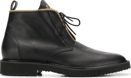 Giuseppe Zanotti Zip-detail ankle boots
