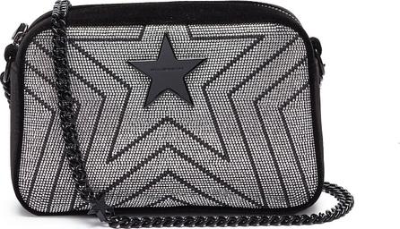 Stella McCartney 'Stella Star' strass embellished velvet mini crossbody bag