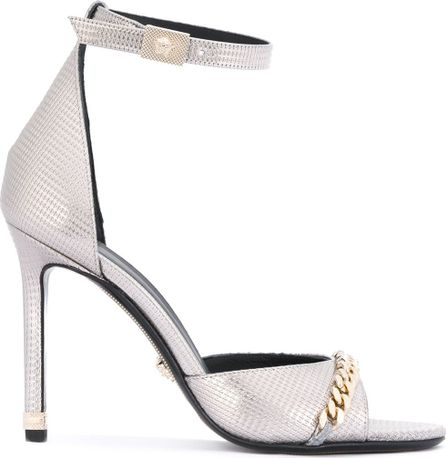 Versace chain detail sandals