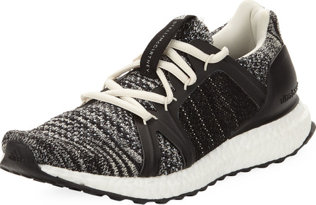 Adidas By Stella McCartney Ultra Boost Parley Knit Trainer Sneakers, Black