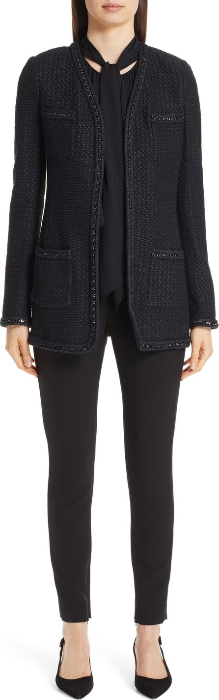 St. John Adina Long Knit Jacket