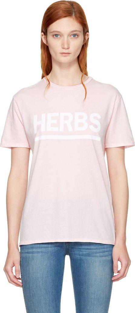 6397 Pink 'Herbs' T-Shirt