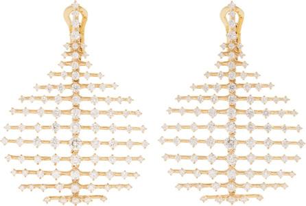 Fernando Jorge Diamond & yellow-gold Disco earrings