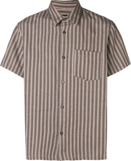A.P.C. Striped short sleeve classic shirt
