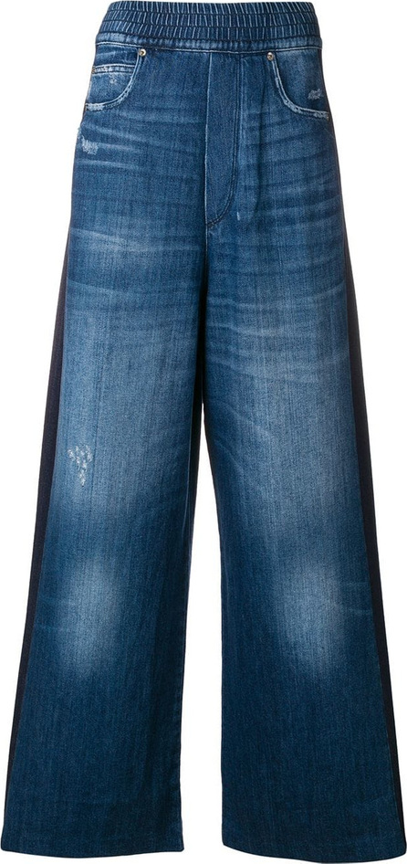 Golden Goose Deluxe Brand Washed detail wide leg jeans
