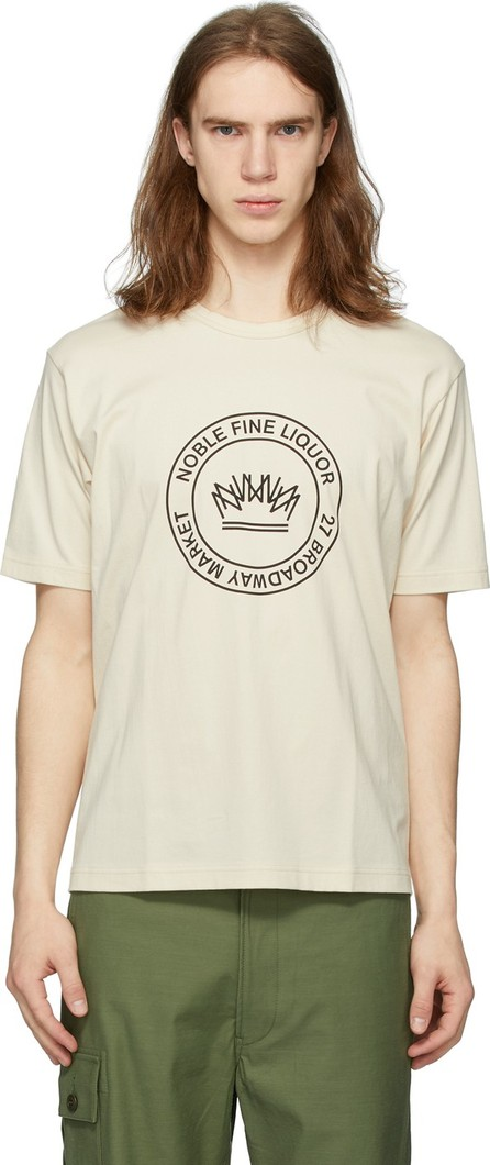 Junya Watanabe Off-White 'Noble Fine Liquor' T-Shirt