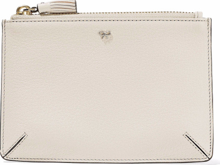 Anya Hindmarch Loose Pocket textured-leather clutch