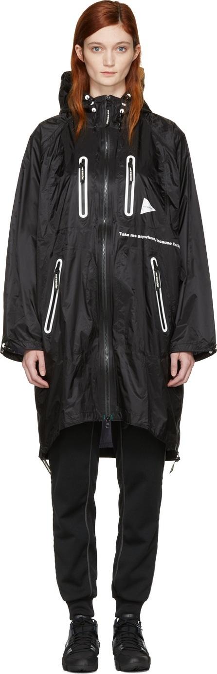 and Wander Black Fly Coat