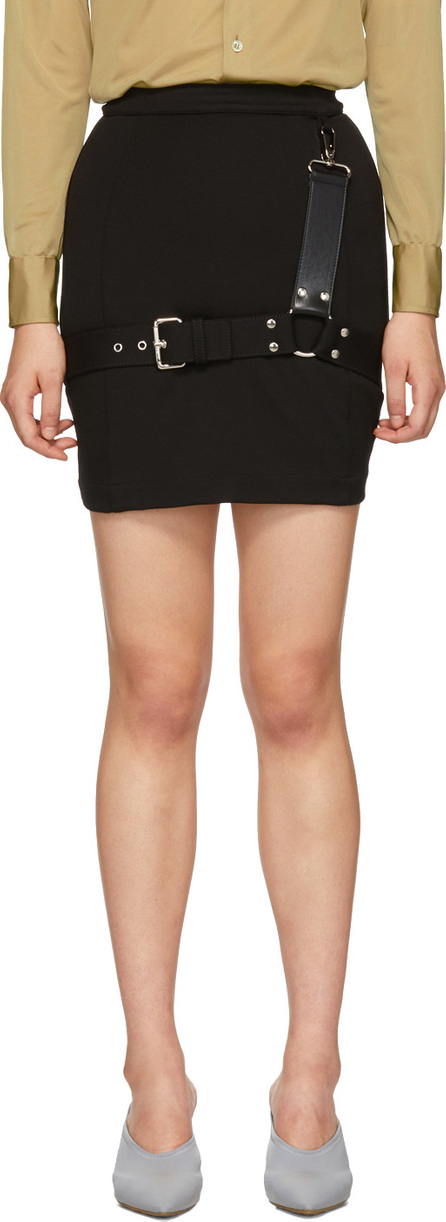 Alyx Black Bondage Skirt