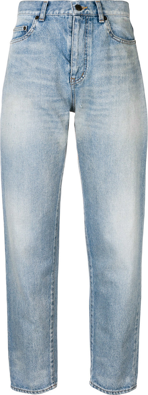 Saint Laurent High waisted boyfriend jeans
