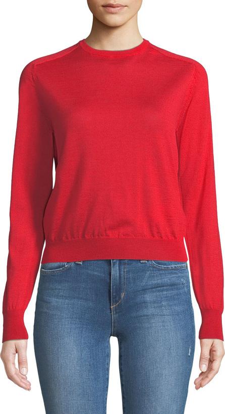 Eleventy Wool-Silk Tie-Back Sweater