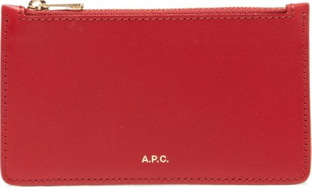 A.P.C. Willow foiled-logo wallet